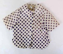 Image of 13244-604 - Clothing, Doll, Terri Lee, Blue Dotted Shirt