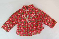 Image of 13244-615 - Clothing, Doll, Terri Lee, Red Floral Western Shirt