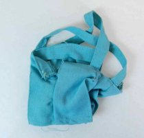 Image of 13244-621 - Clothing, Doll, Jerri, Light Blue Overalls