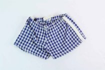 Image of 13244-652 - Clothing, Doll, Terri Lee, Blue and White Checked Shorts