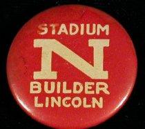 Image of 7104-388-(105) - Button; University of Nebraska - Lincoln, Stadium Builder