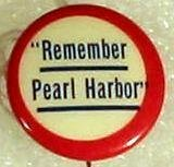 Image of 7104-388-(12) - Button, Remember Pearl Harbor; Pin-Back