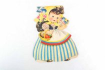 Image of 13244-433 - Card, Greeting, Doll, Snow White