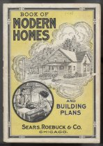 Image of 7956-809 - Catalog, Architecture; Book of Modern Homes and Building Plans, Sears Roebuck, CA. 1908