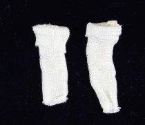 Image of 13244-499-(1-2) - Clothing, Doll, Socks, White