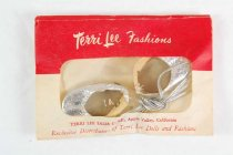 Image of 13244-520-(1-3) - Clothing, Doll, Evening Slippers, Tiny Terri Lee