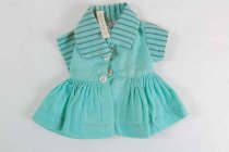 Image of 13244-702-(1) - Clothing, Doll, Tiny Terri Lee, Teal Dress