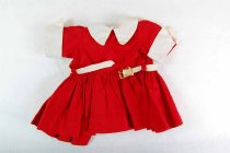 Image of 13244-716-(1-2) - Clothing, Doll, Terri Lee, Red Dress