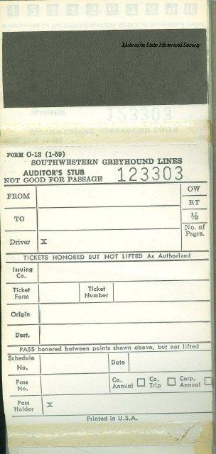 13213-30 - Ticket, Transfer