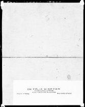 Image of RG3882.PH0052-0008-1 - Negative, Sheet Film