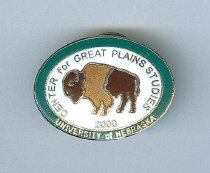 Image of 11011-55 - Pin, Lapel; Center for Great Plains Studies, 2000