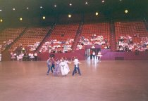 Image of Lincoln Cowboy Dancers performance