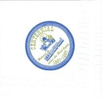 Image of 13354-16 - Napkin, Cocktail; Paper, Nebraska Centennial Seal