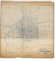 Image of Map of the Village of Battle Creek