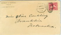 Image of Bessey to Conkling, envelope