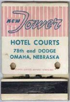 Image of 13373-134 - Matchbook; New Tower, Omaha