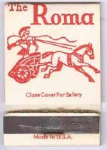Image of 13373-15 - Matchbook; The Roma, Omaha