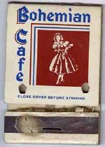 Image of 13373-161 - Matchbook; Bohemian Cafe, Omaha