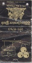 Image of 13373-7 - Matchbook; Winchester Pub