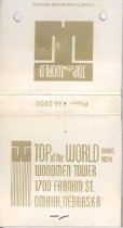 Image of 13373-71 - Matchbook; Top of the World