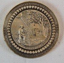 Image of 8709-2 - Medal; Nebraska Centennial
