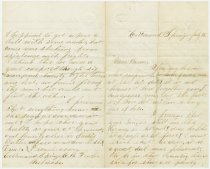 Image of E.B. Fowler letter, p1