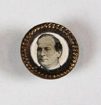 Image of 13371-3 - Button, Campaign; William Jennings Bryan