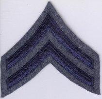 Image of 13333-3 - Patch, Law Enforcement; Corporal Rank Insignia, Nebraska State Patrol