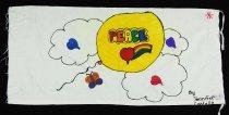 Image of 13352-10 - Banner; Panel, Peace Ribbon, 1985, Peace Balloon