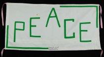 Image of 13352-6 - Banner; Panel, Peace Ribbon, 1985, Sisters of St. Joseph