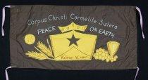 Image of 13352-105 - Banner; Nebraska Peace Ribbon, 1985, Carmelite Sisters