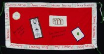 Image of 13352-112 - Banner; Nebraska Peace Ribbon, 1985, Heritages of the Past