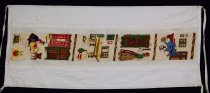 Image of 13352-63 - Banner; Panel, Peace Ribbon, 1985, Cross Stitch House