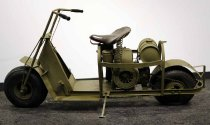 Image of 11055-1327-(1) - Scooter; Cushman Model 53, Airborne, US Army