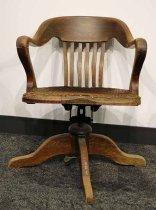 Image of 4832-101 - Chair, Office; Governor Butler