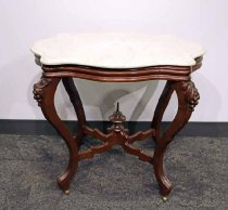 Image of 7291-3 - Table, Center; Victorian, Marble Top
