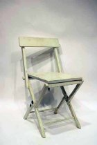 Image of 10824-1 - Chair, Folding; General Pershing, WWI