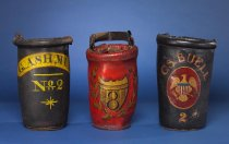 Image of Early 19th Century Leather Fire Buckets