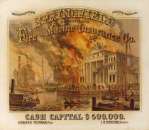 Image of Poster, Springfield Fire and Marine Insurance Company