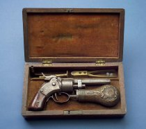 Image of Cased Pocket Revolver with Accessories