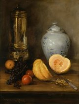 Image of Still Life (with Ginger Jar, Pumpkin and Samovar)