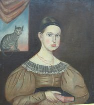 Image of Lady with a Cat