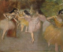 Image of Rehearsal Before the Ballet