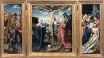 Image of Triptych with the Crucifixion