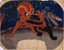 Image of Octopus, Bear, and Dragonfly