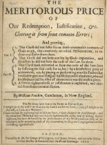 Image of Title Page for the Meritorious Price of  Our Redemption