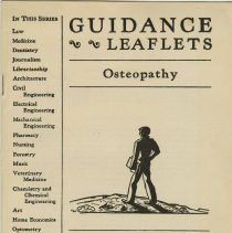 Image of 1979.267 - Osteopathy guidance leaflet