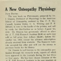 Image of 1979.267 - A New Osteopathy Physiology