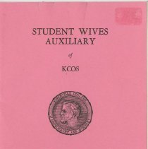 Image of 1980.431 - Student Wives Auxiliary program