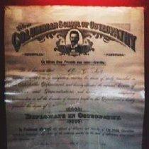 Image of Columbian School Diploma